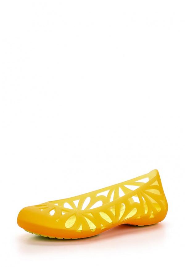 Балетки Crocs 14936-83Q оранжевые