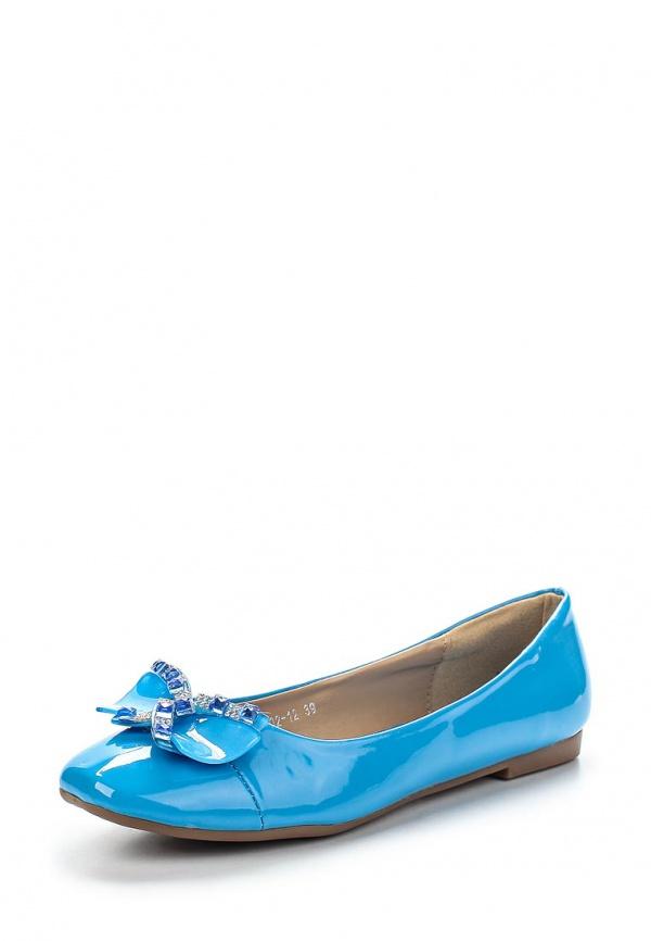 Балетки Vivian Royal J-002-12 голубые