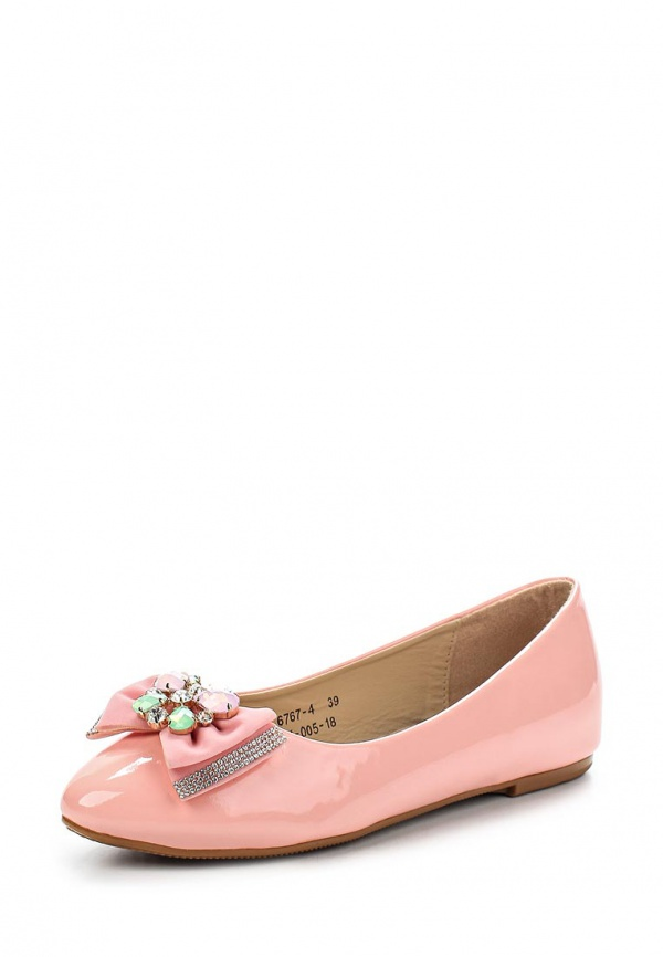 Балетки Vivian Royal J-005-18 розовые