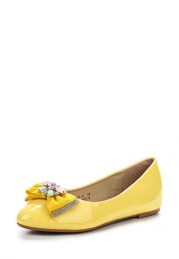 Балетки Vivian Royal J-005-9 жёлтые