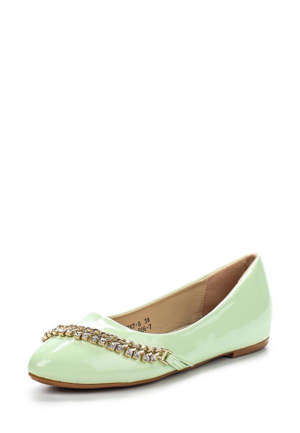 Балетки Vivian Royal J-006-7 зеленые