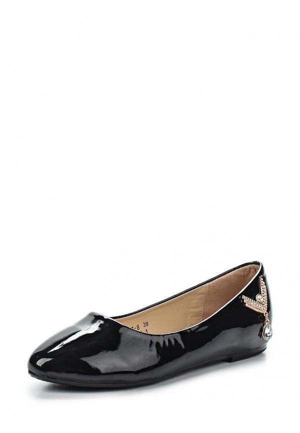 Балетки Vivian Royal J-007-1 чёрные