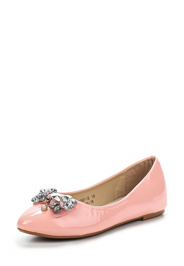 Балетки Vivian Royal J-010-18 розовые