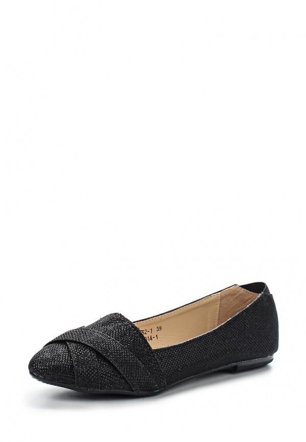 Балетки Vivian Royal J-014-1 чёрные