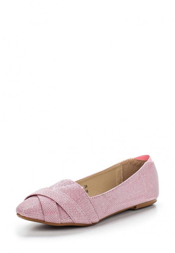 Балетки Vivian Royal J-014-18 розовые