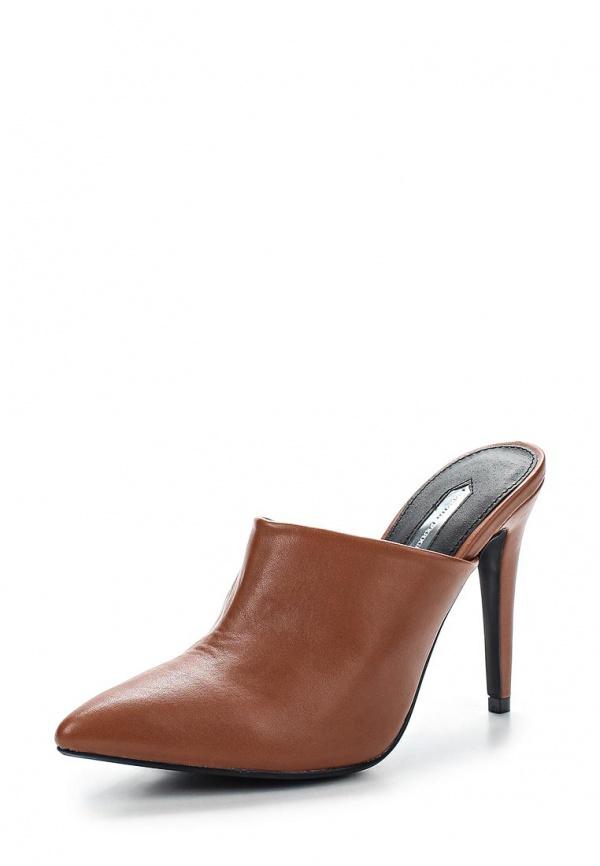 Сабо Dorothy Perkins 22291350 коричневые
