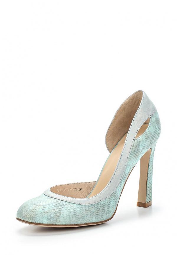 Туфли Laura Valorosa 757122/12-03 зеленые