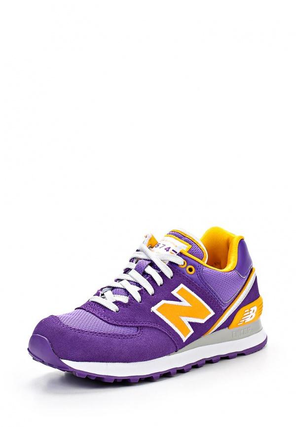 Кроссовки New Balance WL574SJK фиолетовые