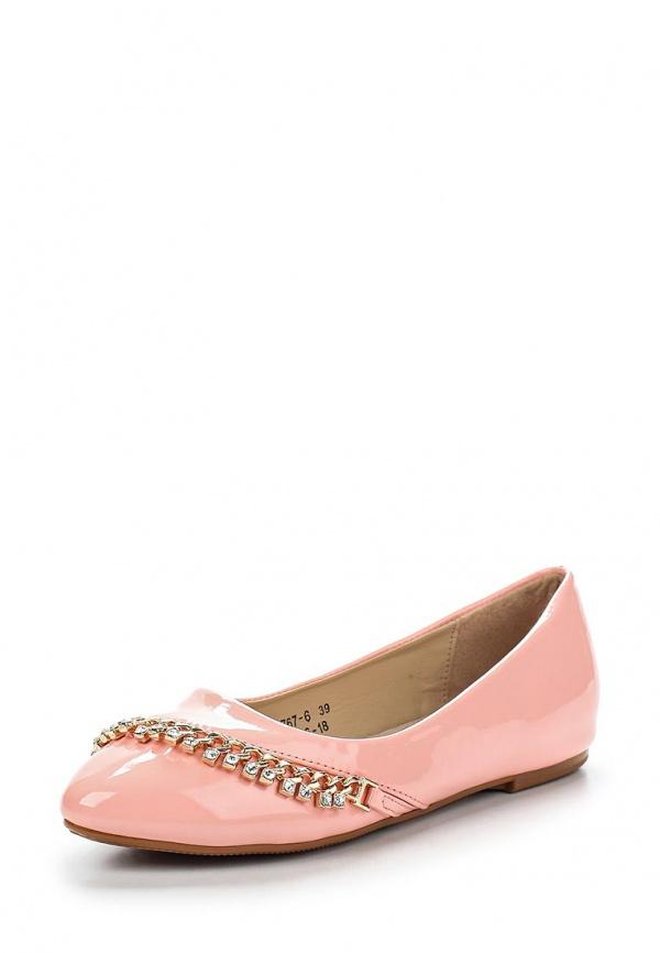 Балетки Vivian Royal J-006-18 розовые