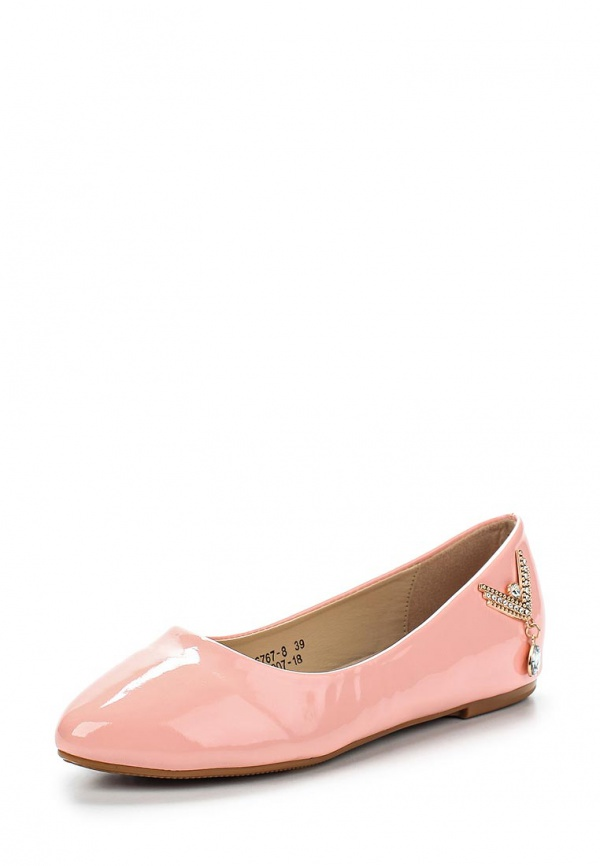 Балетки Vivian Royal J-007-18 розовые