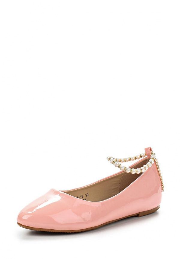 Балетки Vivian Royal J-013-18 розовые
