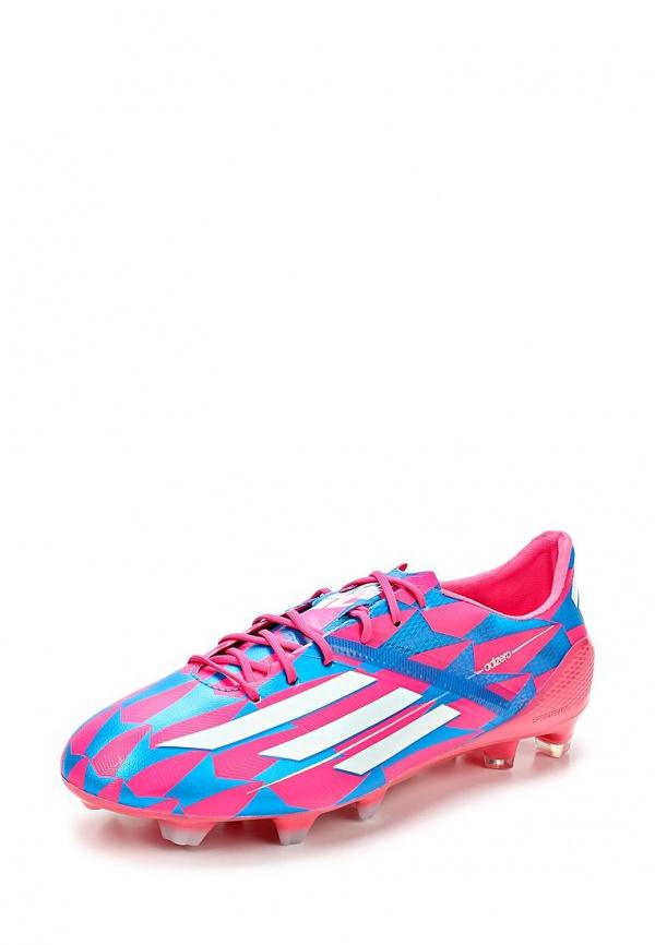 Бутсы adidas Performance M17677 розовые, синие