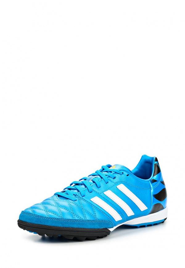 Шиповки adidas Performance M17730 голубые