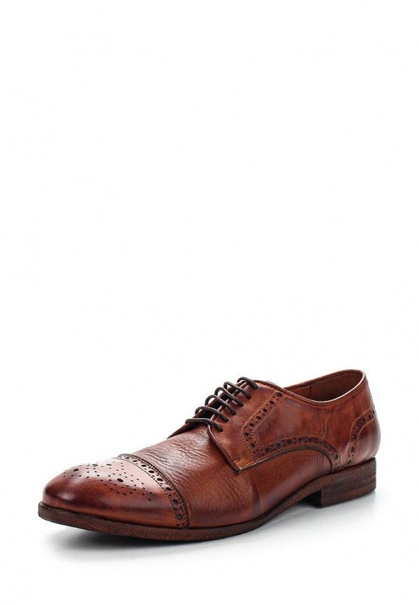 Туфли H by Hudson DAVERN коричневые