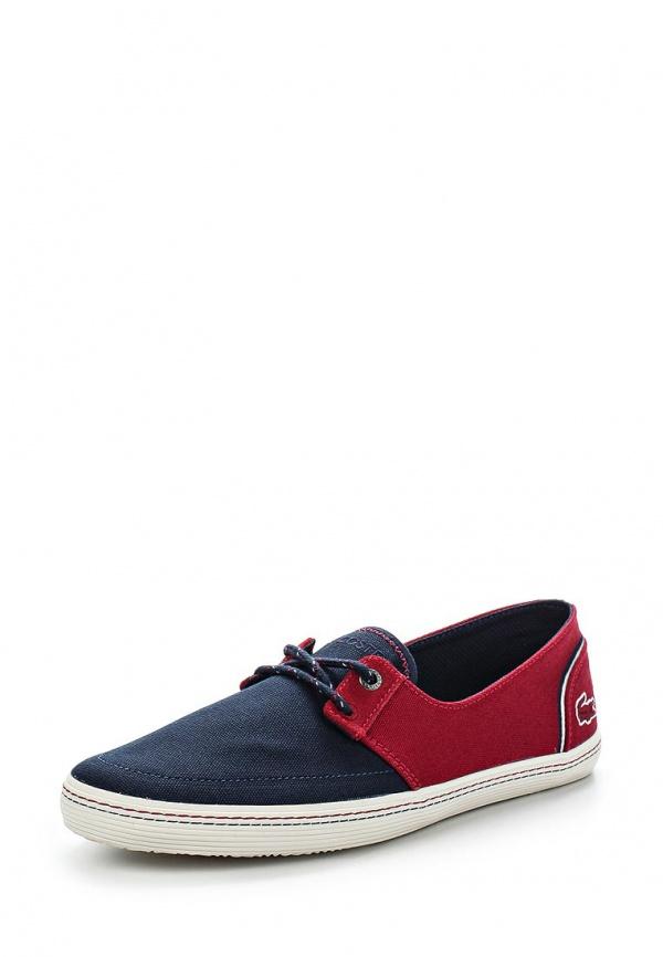 Кеды Lacoste SRM21331P4 красные, синие