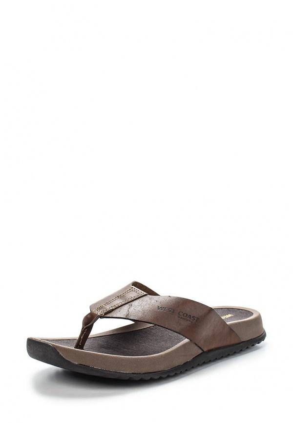 Сабо West Coast 117601-1 коричневые