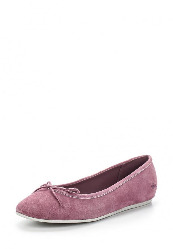 Балетки Lacoste SRW01241S9 розовые