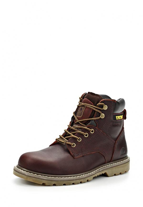 Ботинки Patrol 456-689-15w-1-6 коричневые