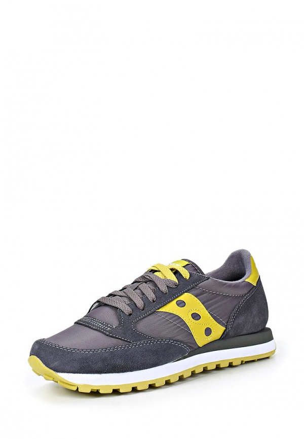 Кроссовки Saucony 2044 жёлтые, серые