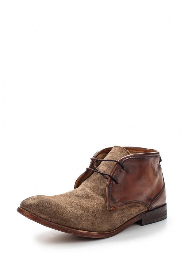 Ботинки H by Hudson CRUISE коричневые