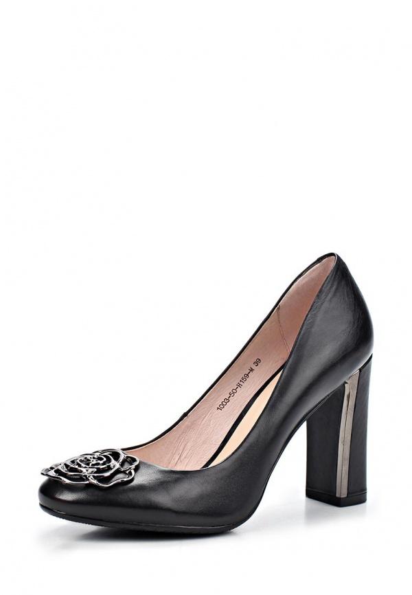 Туфли Sinta 1003-50-H159-M чёрные