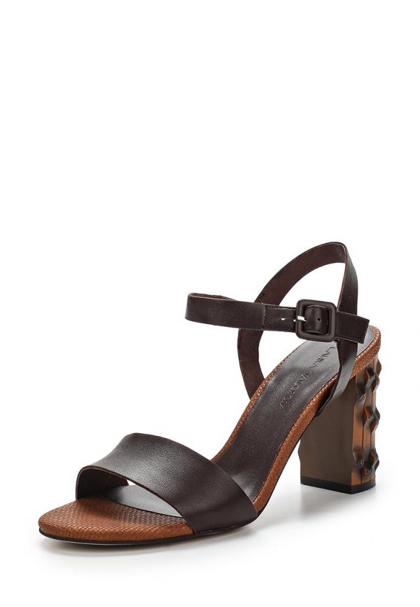 Босоножки Laura Valorosa 757501/01-02 коричневые