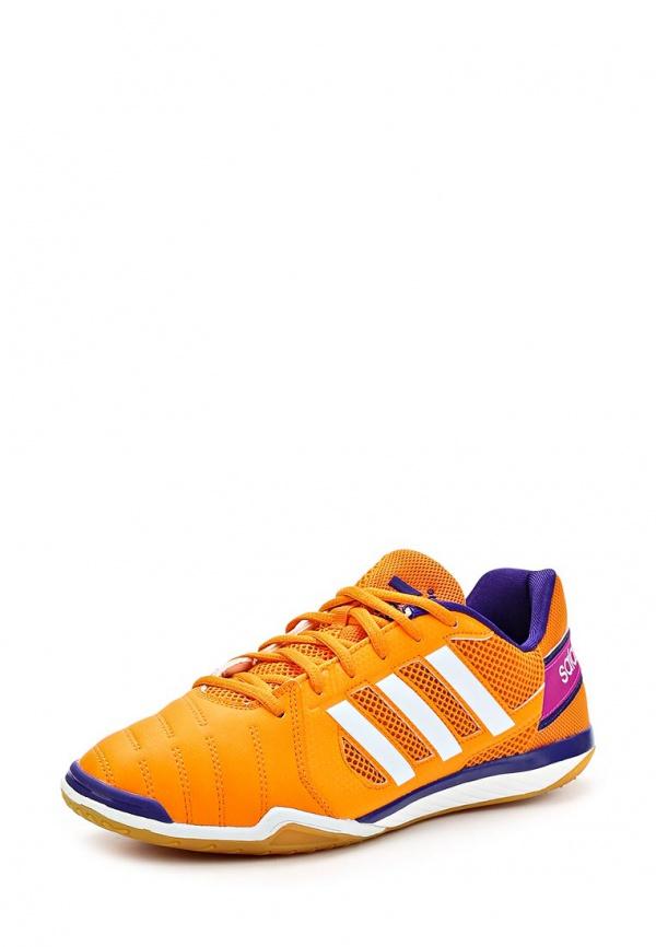 Бутсы зальные adidas Performance F32534 оранжевые