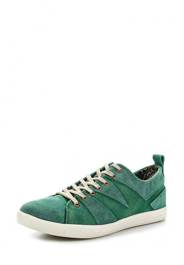 Кеды Dino Ricci 122-02-11(T) зеленые