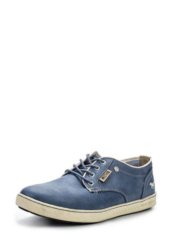 Ботинки Mustang 4088301 синие