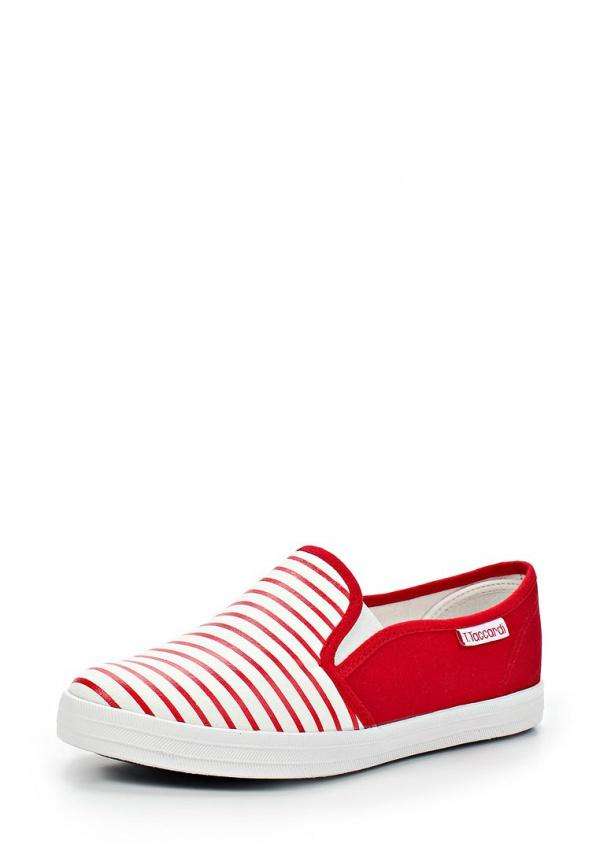 Слипоны T.Taccardi for Kari 226125 белые, красные
