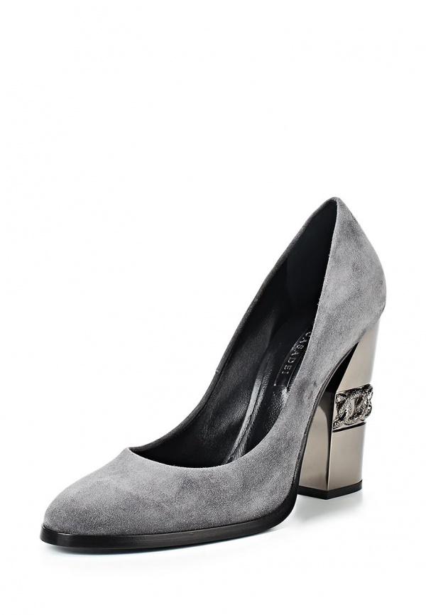Туфли Casadei 6539L159.FB3QUEE091 серые