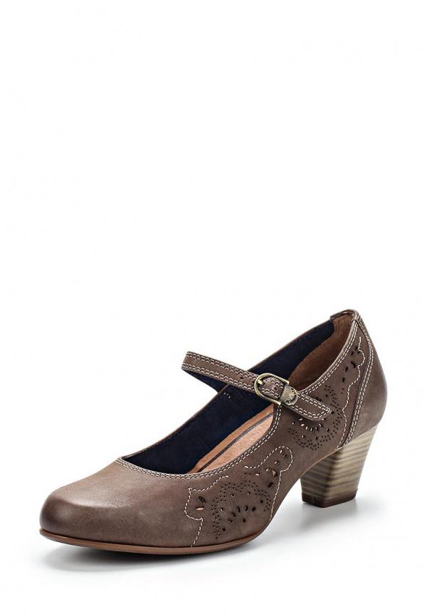Туфли Tamaris 1-1-24424-24-314 коричневые