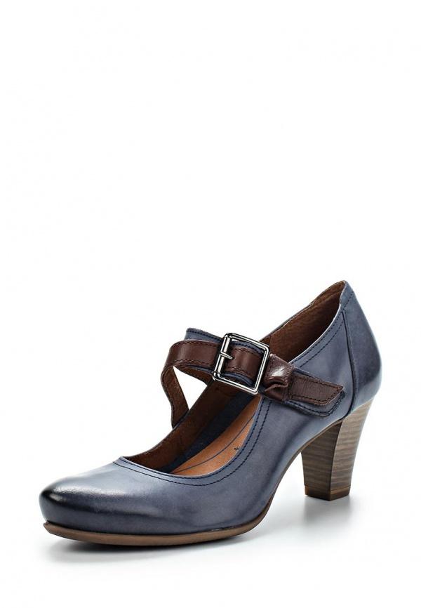 Туфли Tamaris 1-1-24402-24-809 синие