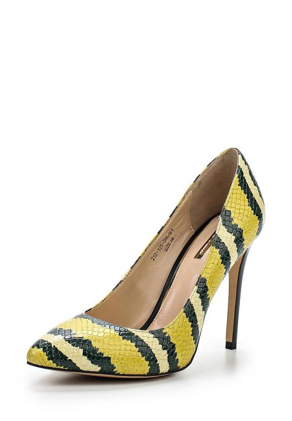 Туфли Dino Ricci 210-125-206 жёлтые