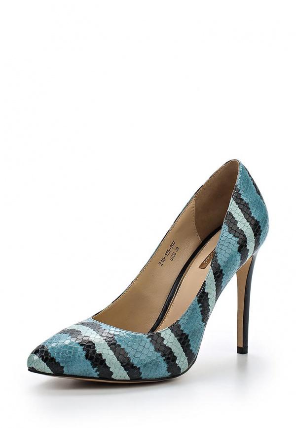 Туфли Dino Ricci 210-125-207 голубые