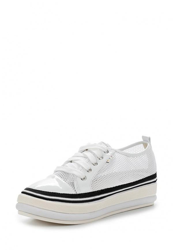 Кеды Dino Ricci Trend 254-05-05 белые, чёрные