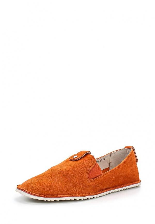 Слипоны J&Elisabeth 957399/04-03 оранжевые