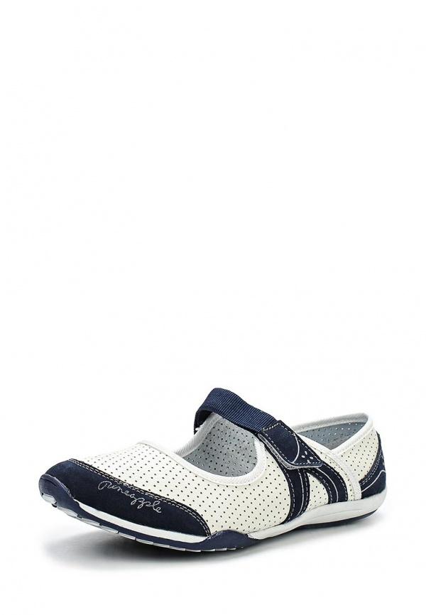 Балетки Crosby 457014/01-03-W белые, синие