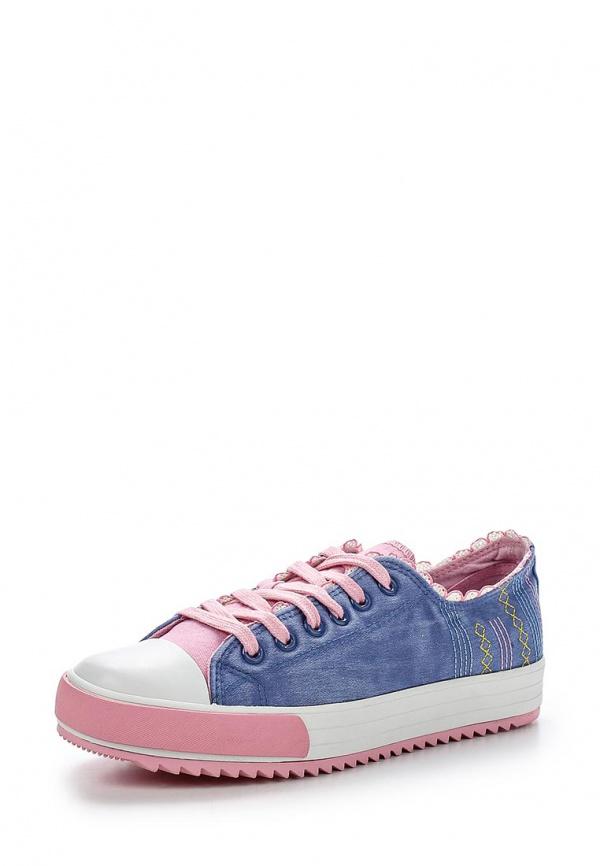 Кеды Keddo 857369/02-01W голубые, розовые
