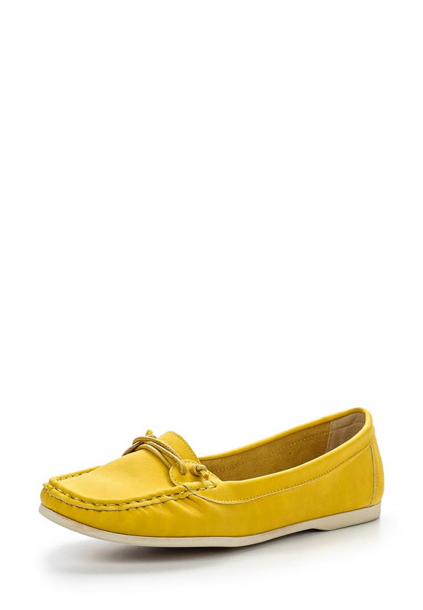 Мокасины Keddo 857265/02-09W жёлтые
