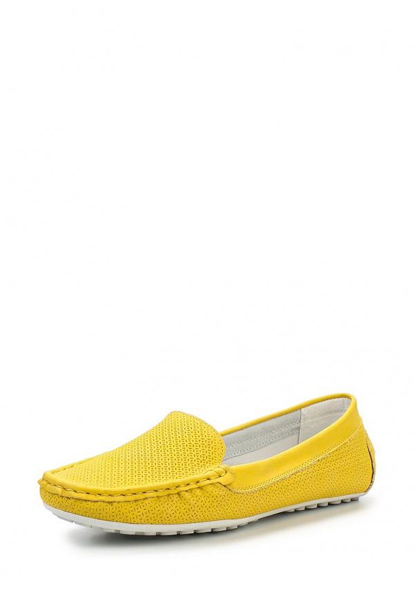 Мокасины Keddo 857306/01-08W жёлтые