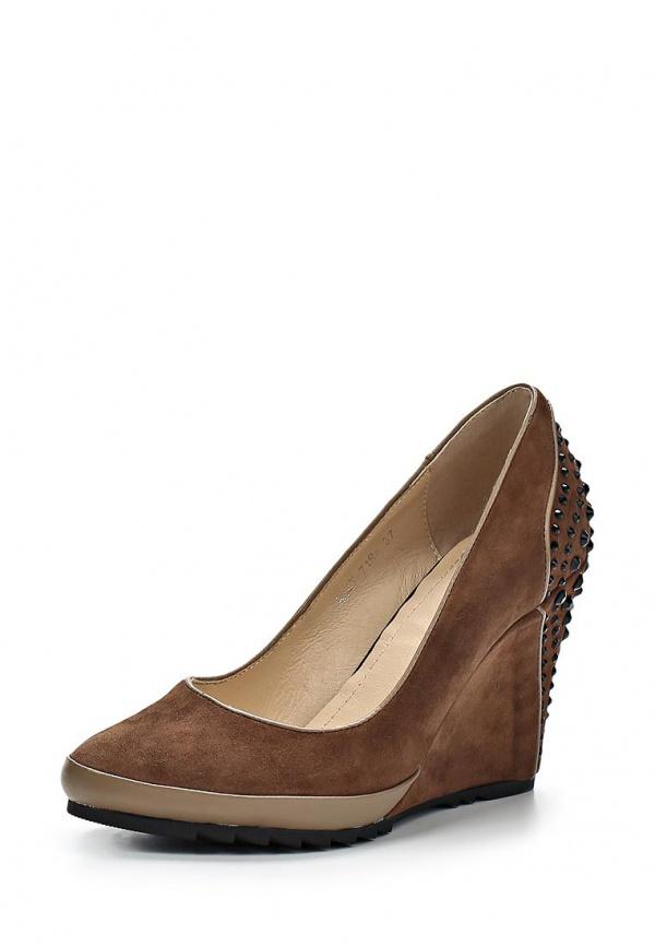 Туфли Covani 8347-7194 коричневые