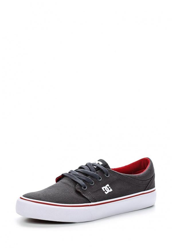 Кеды DC Shoes ADYS300126 красные, серые