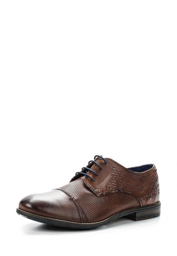 Туфли Bugatti R0909-4W коричневые