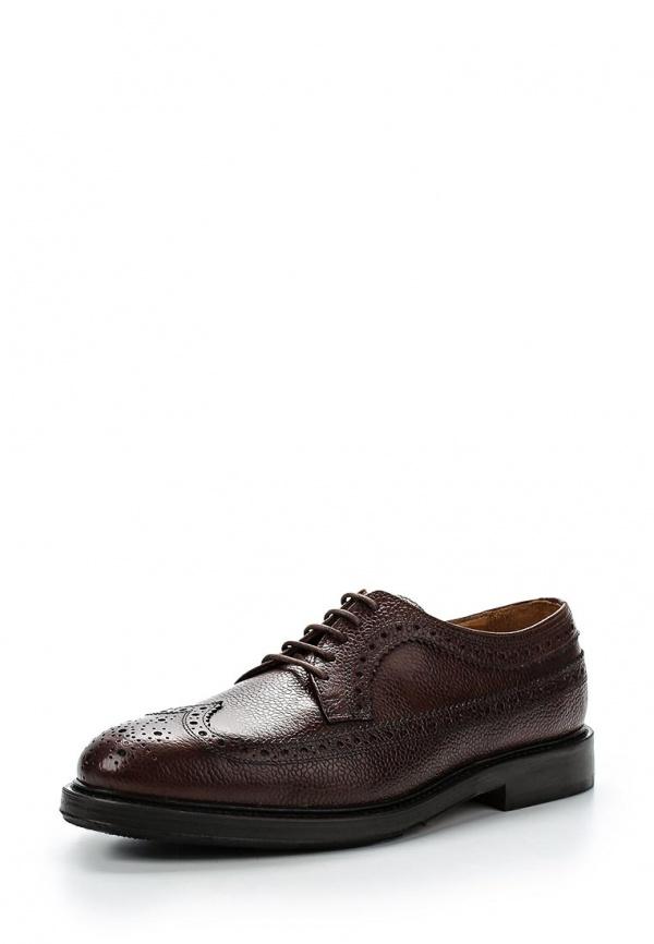 Туфли Selected Homme 16042344 коричневые