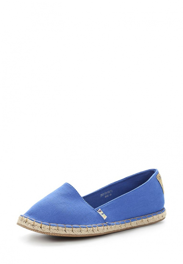 Слипоны Dino Ricci Trend 262-02-02(T) голубые