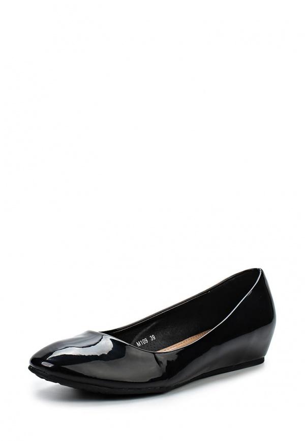 Туфли Max Shoes M109 чёрные