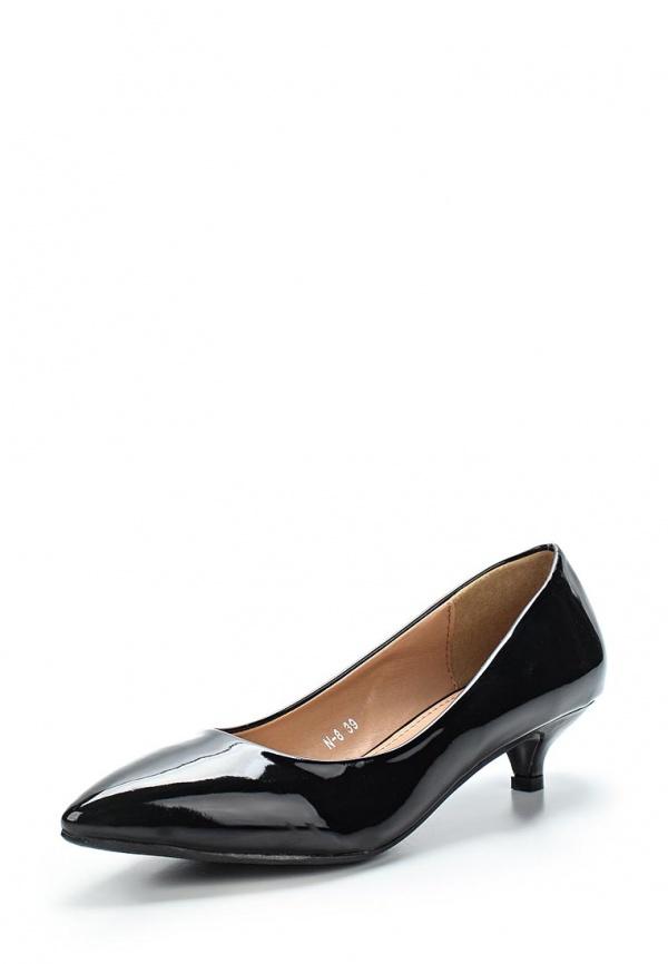 Туфли Max Shoes N-8 чёрные