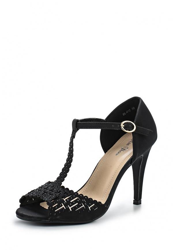Босоножки Max Shoes EL-412 чёрные