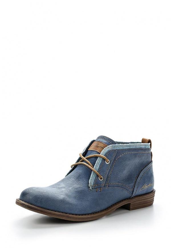 Ботинки Mustang 1157501 голубые